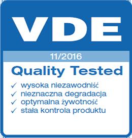 certyfikat VDE